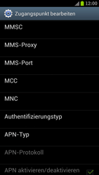 Samsung I9300 Galaxy S III - Internet - Manuelle Konfiguration - Schritt 13
