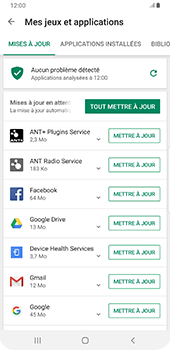 Samsung Galaxy S9 Plus - Android Pie - Applications - Comment vérifier les mises à jour des applications - Étape 7