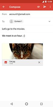 Nokia 7 Plus - E-mail - Sending emails - Step 16
