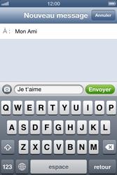 Apple iPhone 4 - iOS 6 - MMS - envoi d'images - Étape 7