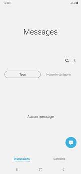 Samsung Galaxy Note20 Ultra 5G - Contact, Appels, SMS/MMS - Envoyer un MMS - Étape 4