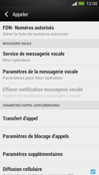HTC One - Messagerie vocale - configuration manuelle - Étape 6