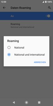 Sony Xperia XZ2 - Android Pie - Ausland - Auslandskosten vermeiden - Schritt 10