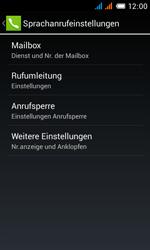 Alcatel Pop C3 - Anrufe - Rufumleitungen setzen und löschen - 8 / 13