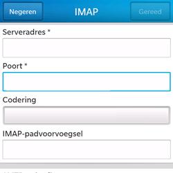 BlackBerry Q5 - E-mail - Handmatig instellen - Stap 11