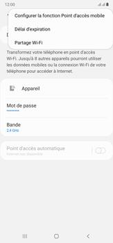 Samsung Galaxy Note20 Ultra 5G - Internet et connexion - Partager votre connexion en Wi-Fi - Étape 8