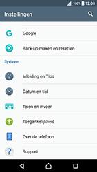 Sony F5121 Xperia X - Android Nougat - Toestel reset - terugzetten naar fabrieksinstellingen - Stap 4