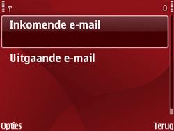 Nokia E63 - E-mail - Handmatig instellen - Stap 17