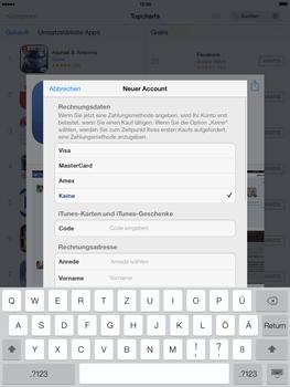 Apple iPad mini iOS 7 - Apps - Einrichten des App Stores - Schritt 19