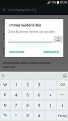 HTC 10 - Android Nougat - Anrufe - Rufumleitungen setzen und löschen - Schritt 7
