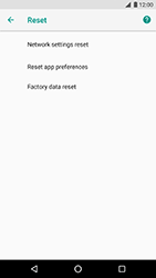 LG Nexus 5X - Android Oreo - Device - Factory reset - Step 7