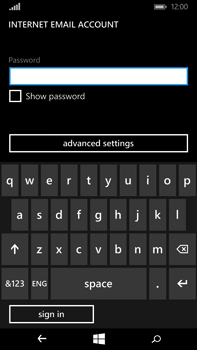Microsoft Lumia 640 XL - Email - Manual configuration POP3 with SMTP verification - Step 18