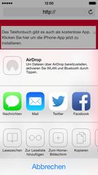 Apple iPhone 5s - Internet und Datenroaming - Verwenden des Internets - Schritt 14