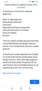 Huawei Y6 (2019) - Data - Maak een back-up met je account - Stap 11