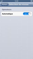 Apple iPhone 5 - Réseau - Sélection manuelle du réseau - Étape 4