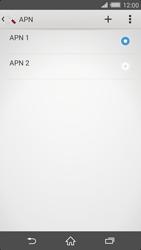 Sony Xperia Z2 - Internet et roaming de données - Configuration manuelle - Étape 16