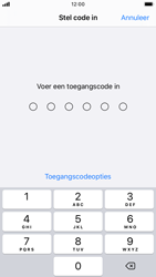 Apple iPhone 8 - iOS 13 - Beveiliging - stel in of wijzig pincode voor je toestel - Stap 5