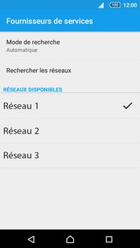 Sony Xperia Z5 Premium (E6853) - Réseau - Sélection manuelle du réseau - Étape 10