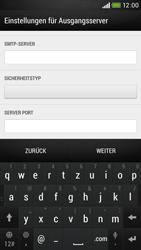 HTC Desire 601 - E-Mail - Konto einrichten - 1 / 1