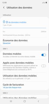 Samsung Galaxy Note10 - Internet - Désactiver les données mobiles - Étape 6