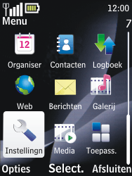 Nokia 2700 classic - bluetooth - aanzetten - stap 3
