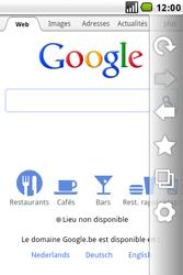 LG GW620 - Internet - navigation sur Internet - Étape 4