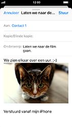 Apple iphone-5s-ios-12 - E-mail - Bericht met attachment versturen - Stap 14