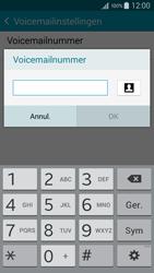 Samsung G925F Galaxy S6 Edge - Voicemail - Handmatig instellen - Stap 9