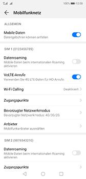 Huawei P20 - Android Pie - Netzwerk - So aktivieren Sie eine 4G-Verbindung - Schritt 7