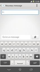 Sony Xpéria Z1 - Contact, Appels, SMS/MMS - Envoyer un SMS - Étape 5