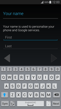 Samsung Galaxy Note 4 - Applications - Setting up the application store - Step 5