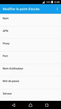 Sony Xperia Z5 Premium - Android Nougat - Internet - configuration manuelle - Étape 11