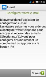 Alcatel One Touch Pop C3 - E-mail - configuration manuelle - Étape 9