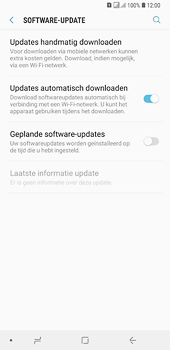 Samsung Galaxy A6 Plus - software - update installeren zonder pc - stap 5