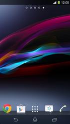 Sony Xperia Z1 - Operazioni iniziali - Installazione di widget e applicazioni nella schermata iniziale - Fase 3
