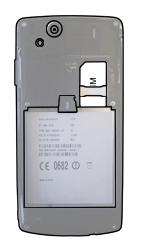 Sony Ericsson Xperia Arc S - SIM-Karte - Einlegen - Schritt 4