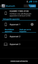 Huawei Ascend Y300 - bluetooth - headset, carkit verbinding - stap 8