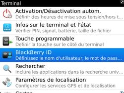 BlackBerry 9900 Bold Touch - BlackBerry activation - BlackBerry ID activation - Étape 5