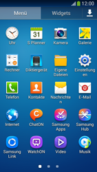 Samsung I9195 Galaxy S4 Mini LTE - SMS - Manuelle Konfiguration - Schritt 3