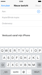 Apple iPhone 5 (iOS 8) - e-mail - hoe te versturen - stap 4