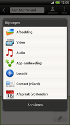 HTC S720e One X - MMS - afbeeldingen verzenden - Stap 8