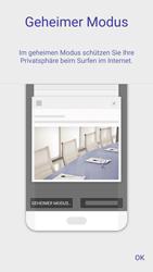 Samsung Galaxy S7 - Datenschutz und Sicherheit - Datenschutzeinstellungen des Browsers ändern - 5 / 18