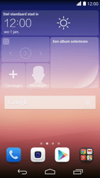 Huawei Ascend P7 - E-mail - Account instellen (POP3 zonder SMTP-verificatie) - Stap 1