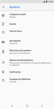 Nokia 7 Plus - Aller plus loin - Mettre à jour le logiciel interne de votre mobile - Étape 6