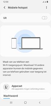Samsung galaxy-a8-2018-sm-a530f-android-pie - WiFi - Mobiele hotspot instellen - Stap 11