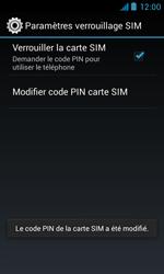 Bouygues Telecom Bs 402 - Sécuriser votre mobile - Personnaliser le code PIN de votre carte SIM - Étape 13