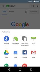 Sony Xperia X - Internet et connexion - Naviguer sur internet - Étape 22