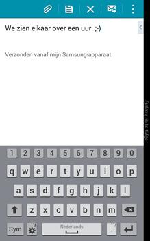 Samsung Galaxy Note Edge - e-mail - hoe te versturen - stap 20
