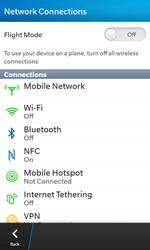 BlackBerry Z10 - Network - Manual network selection - Step 7