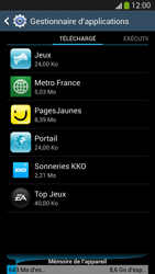 Samsung Galaxy S 4 LTE - Applications - Comment désinstaller une application - Étape 9